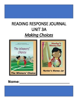 Ready Gen Unit 3 Module A Response to Reading Journal Grade 1