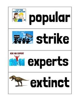 Ready Gen Unit 3 Module A Vocabulary Cards Second Grade