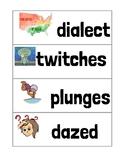 Ready Gen Unit 4 Module A Vocabulary Cards Second Grade