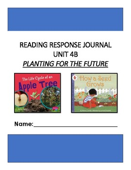 Ready Gen Unit 4 Module B Response to Reading Journal Grade 1