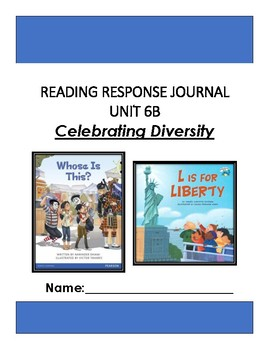 Ready Gen Unit 6 Module B Response to Reading Journal Grade 1
