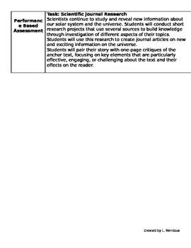 Ready Gen Unit Overview Grade 5 Unit 3B Revised