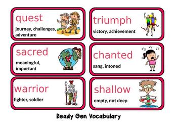 Ready Gen Unit2 ModB Vocabulary