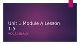 Ready Gen Vocab Grade 3 Unit 1 Module A Lessons 1-18 (Bundle)