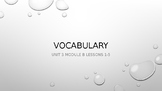 Ready Gen Vocab Grade 3 Unit 1 Module B Lessons 1-18 (Bundle)