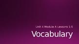 Ready Gen Vocab Grade 3 Unit 4 Module A Lessons 1-18 (Bund