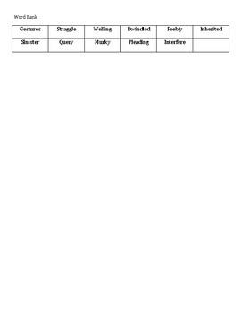 Ready Gen Vocabulary 5th Grade Crossword Unit 1 Module A Lessons 6-8 Spadefoot