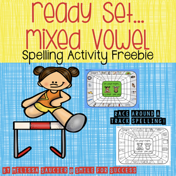 Ready, Get Set... Mixed Vowels {Freebie}