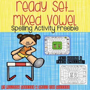Ready, Get Set... Mixed Vowels {Freebie}