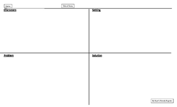 Ready-Made Comprehension Maps for Fiction or Non-Fiction