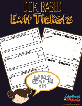 Ready-Made Exit Tickets (DOK Based)