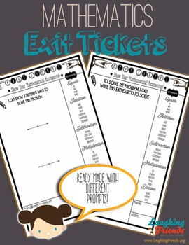 Ready-Made Math Exit Tickets