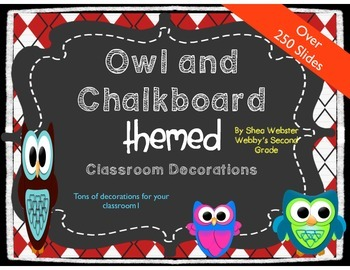 Ready Made Mega Owl Themed Classroom Decorations Extremely Cute