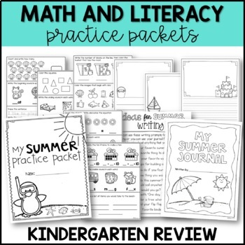 Summer Review {Ready Made for First Grade!}