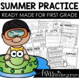 Summer Packet Kindergarten going to First Grade