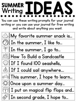 Summer Review for 1st Graders Entering 2nd Grade