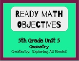 Ready Math 5th Unit 5 Lesson Objectives