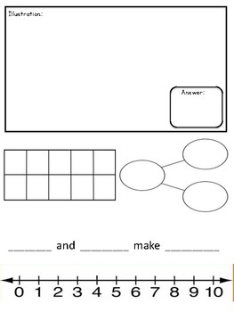 ready math journal pages template by units by kayla middleton tpt
