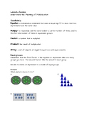 Ready Math Lesson 1 Quiz Review and Study Guide