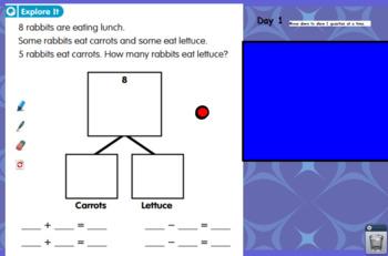 Ready Math Lesson 4 First Grade Flip Chart