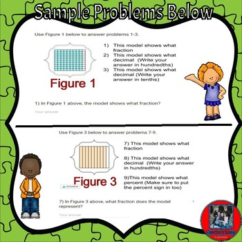 Ready Math-Lesson 4B-Practice & Problems Solving Pages on Google  Forms-Decimals