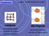 Ready Math Lesson 7 First Grade: Ways to Make 6 and 7