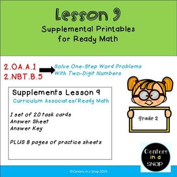Ready Math Curriculum Associates Lesson 9 Solving Word Problems