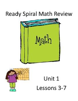 Ready Math Spiral Review Unit 1 & 2
