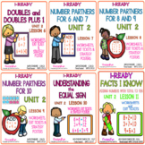 IReady 1st Grade Math Complete Unit 2 Bundle - Learn Facts to 10
