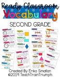 Ready Math VOCABULARY CARDS for Second Grade