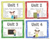 Ready Math Vocabulary Posters Grade 1