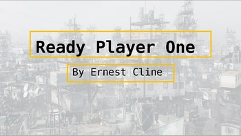 Ready Player One Power Point