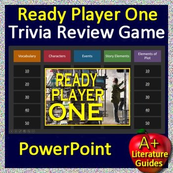Ready Player One Review Game - Review for the final test playing a fun game!