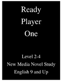Ready Player One Unit Plan - New Media Focus