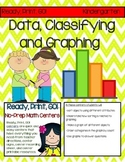 No-Prep Math Centers: Data, Classifying, and Graphing