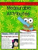 Ready, Print, GO! No-Prep Math Centers: Measurable Attributes