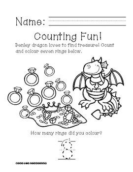 Ready, Print, Go! Denley Dragon Can Count