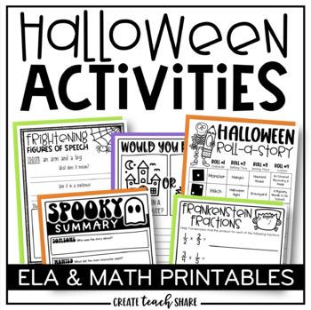 Ready, Print, Go! {Halloween Edition}