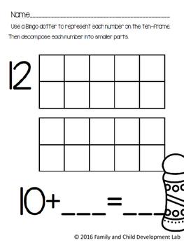 Ready, Print, Go! No-Prep Math Centers: Place Value (first grade)
