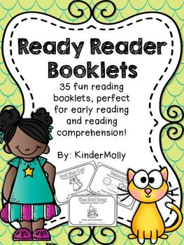 Ready Reader Booklets - Reading Comprehension for emerging readers!