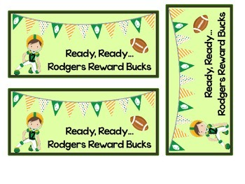 Ready Ready...Rodger's Reward Bucks!
