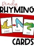 Ready Rhyming Cards