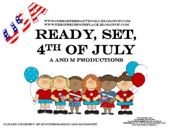 Ready, Set, 4th of July (easy assembly version)