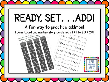 Ready, Set...Add!
