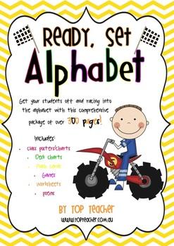 Ready, Set, Alphabet!