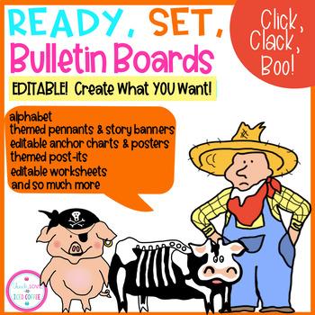 Ready, Set, Bulletin Boards Click, Clack, Boo!