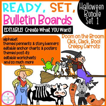 Ready, Set, Bulletin Boards Halloween BUNDLE Set 1