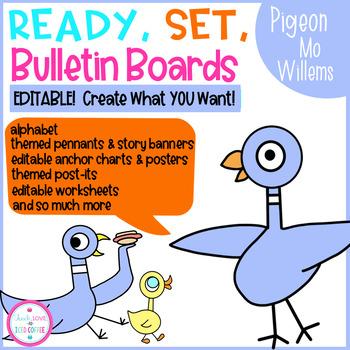 Ready, Set, Bulletin Boards Pigeon