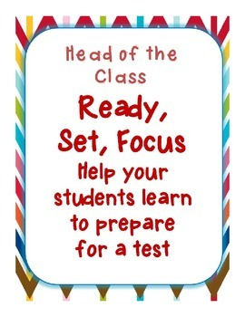 Ready, Set, Focus - Test Preparation