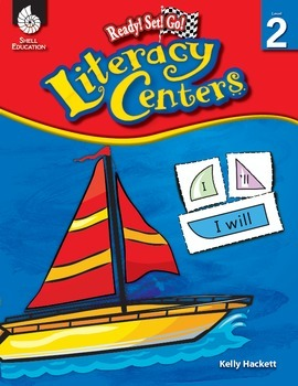 Ready! Set! Go! Literacy Centers: Level 2 (eBook)